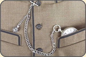 Fancy  Watch Chain with fob