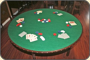 46 inch Old West Gambler's Poker Table FREE SHIPPING