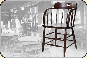saloon supplies Caboose chair, To day we call them Saloon Chairs- SET of 6, FREE SHIPPING