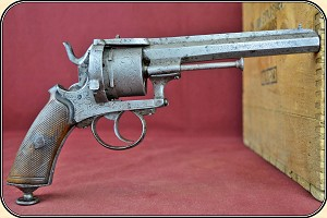 z Sold August Francotte pinfire revolver