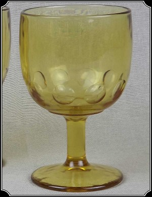 Saloon - Amber Bartlett Collins Footed Goblets Set of 2