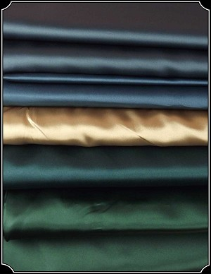 Fabric - Satin by the Piece in your Choice of Color
