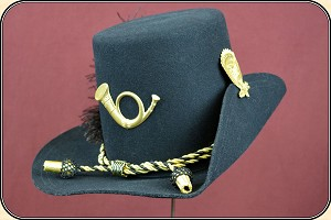 Civil War Reenactors - 1858 Hardee Hat  size 7 1/8