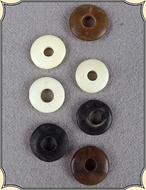 Beads - Mixed Bag of Bone and Horn Beads