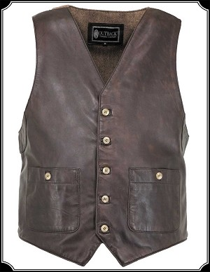 Wynyard Vest Leather