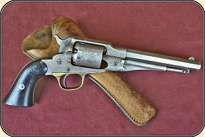 z Sold Remington New Model Police Revolver  Revolver. .36 percussion