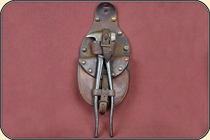 z Sold Early vintage Staple and Plier pouch