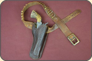 z Sold antique Mexican Holster