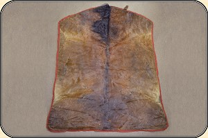 z Sold Horsehide, Lap Robe with LONG MANE