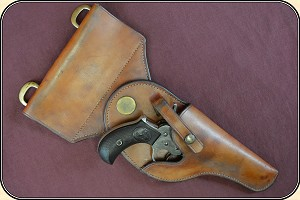 Northwest Mounted Police Holster For Sam Browne belt