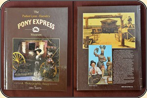 z Sold The Parker Lyon - Harrah's Pony Express Museum Photographic Essay