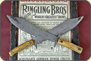 Antique Circus Jugglers Knives