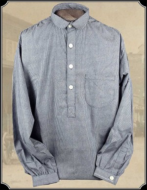 Shirt - Black Stripe Old West Frontier