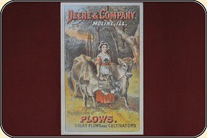 Deere & Company Poster - Milkmaid