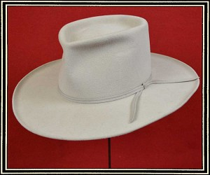 z Sold Close Out Hat - quality wool felt hat size 7 1/8  custom  A Few Dollars More Styled hat