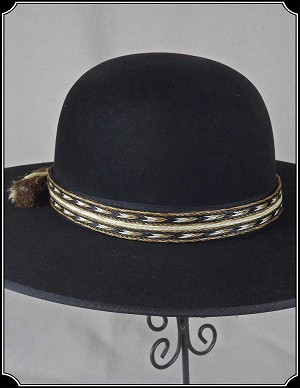 One Inch Genuine Horse Hair Hat Band