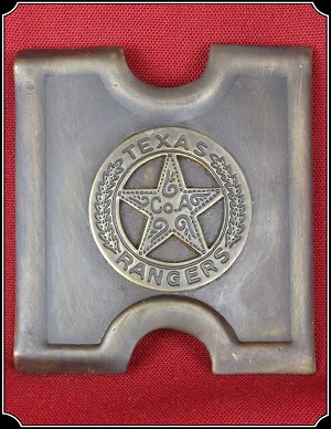 Buckle -Texas Ranger Co A 3 Inch Buckle for Web Belts