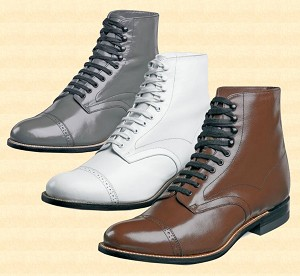 Boots - Dress Shoe Hi Tops
