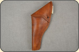 Civilian full flap holster Copied from original in the River Junction Collection