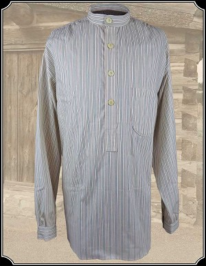 Red and Blue Stripe Festus Shirt Heirloom Brand