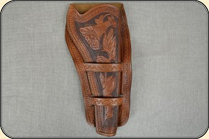 Holster for a Colt Dragoon copy of an original in the River Junction Collection