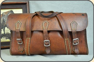z Sold  19th Century Valise or Portmanteau