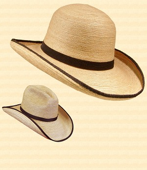 Men's Hat - Civil War Straw Hat
