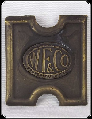 "Buckle - 3"" Wells Fargo buckle for web belt"
