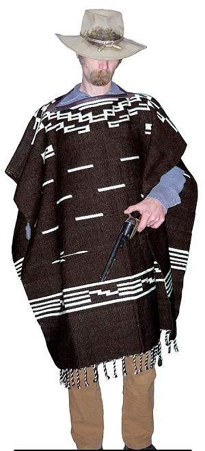 Coat - Clint Eastwood Poncho - A Fistful of Dollars (Per Un Pugno Di Dollari)
