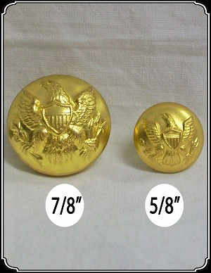 Buttons ~ Union Buttons with Federal Eagle
