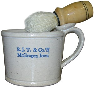 River Junction Shaving Mug with soap