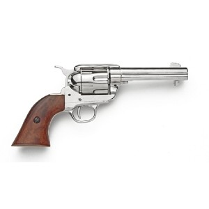 Non- firing pistol - M1873 Fast draw nickle finish.