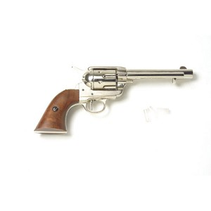 Non- firing pistol - Frontier Revolver Nickel Finish