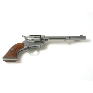 Non- firing pistol - M1873 Old West Revolver Gray 7 in.
