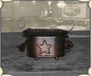 Curio - Punched Star Wax Warmer
