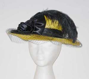 19th Century Ladies Straw Victorian Hat Late 1880s through 1890s 108d34bfe63