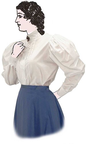 Blouse - Shirtwaist Blouse - Heritage Brand