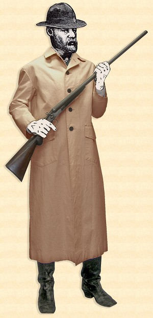 Outlaw Duster Coat - Canvas - Heritage Brand Size- 2X Color- Light Tan