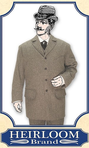 z- Sold Outfits - Gentlemen's Combinations  -  Dress Wool