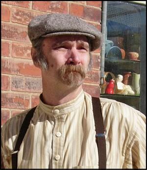 5a51651b8a2 Irish Eight Piece cap or 19th Century newsboy cap