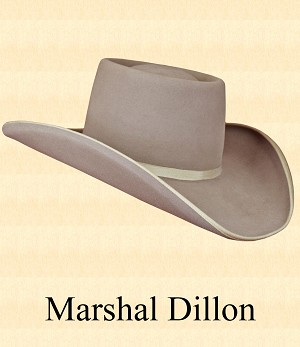 Marshal Dillon - Hat Style