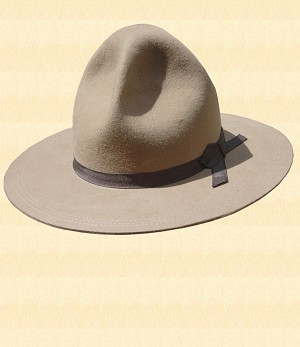 Trooper Campaign Hat  - Hat Style