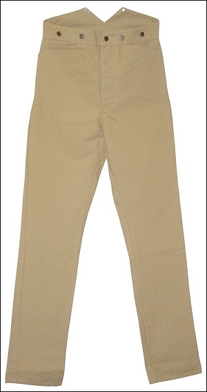 Trousers - Wheat Suspender Pants Frontier