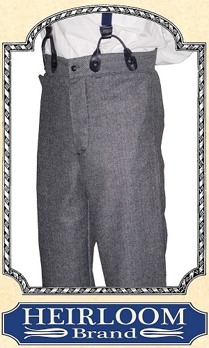Trousers - Last of Material ~ Worsted Wool