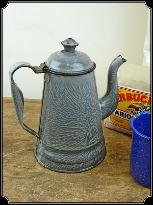 Coffee Pot - Enamel