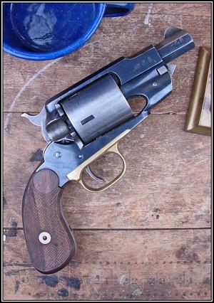 custom-made pair of 1858 Remington conversions  38 caliber