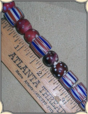 Beads - Red Skunk Bead