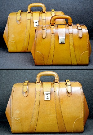 z-Sold Limited Supply Leather Satchel or Dr. Bag or Luggage