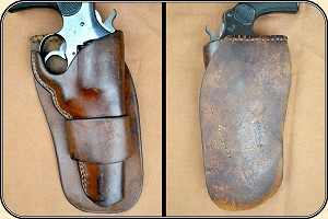 z Sold Western Loop holster for a 5 1/2 inch barreled Colt New Service Revolver