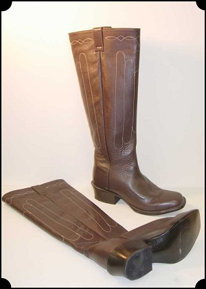 19th Century Old West Cathedral Boot